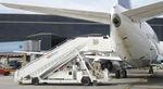 лестница для посадки на судно / самоходная / мобильная / для самолета