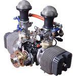 поршневой двигатель 10 - 50 л.с. / 0 - 10 кг / 2 фазы / с 2 цилиндрами