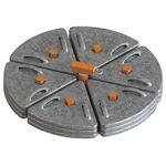 анкерное страховочное устройство из стали / бетонное / с противовесом