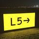 указатель сигнальные таблички / статический / для взлетно-посадочной полосы / LED