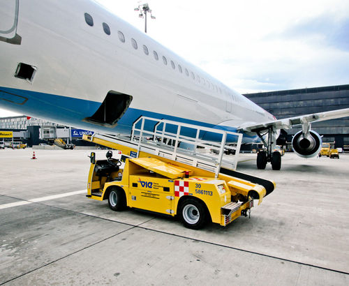 Транспортер для аэропорта металлоуловитель на конвейер